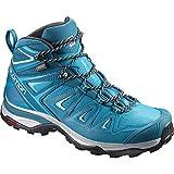 Salomon Damen X Ultra 3 Mid GTX W Trekking-& Wanderstiefel, Blau (Deep Lagoon/Enamel Blue/Eggshell Bl 000), 41 1/3 EU
