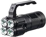KryoLights Handstrahler Akku: LED-Handstrahler TRC-4.4A inkl. Akkus, 2.000 lm (LED Handstrahler Akku)