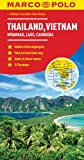 Thailand, Vietnam, Laos, & Cambodia Map (Marco Polo Maps)