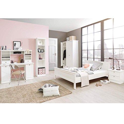 ... Mädchenzimmer Jugendzimmer Komplettset In Weiß Im Landhaus Stil  STOCKHOLM