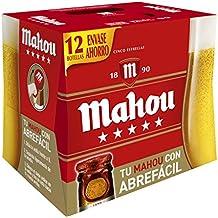 Mahou 5 Estrellas Cerveza - Pack de 12 x 250 ml - Total: 3000 ml