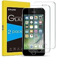 [2-Pack] Cristal templado iPhone 5 S Protector Pantalla iPhone 5s,SPARIN Cristal Templado iPhone SE/5S/5C/5,Vidrio Templado con [Alta Dureza][Alta Transparencia][Sin Burbujas]