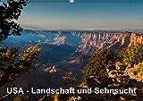USA - Landschaft und Sehnsucht (Wandkalender 2017 DIN A2 quer): Faszinierende Eindrücke aus dem wunderbaren Südwesten der USA. (Monatskalender, 14 Seiten ) (CALVENDO Orte)