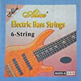 Alice 1 Satz Bass Saiten 603-6 für 6-Saiter