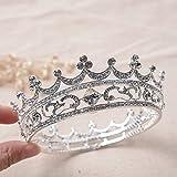 WHH* Rhinestone de las mujeres / corona nupcial del círculo de la aleación / elegante / accesorios del tocado / del vestido de la boda Headpiece / tiaras 1 pedazo