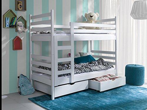 Etagenbett Stockbett Hochbett Doppelbett NEMO 80x180 Kinderbett wohnideebilder