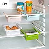 Bulfyss Multipurpose Compact Fridge Pull-out Drawer Organizer Kitchen Shelf Rack,1 Pc