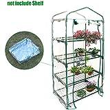 Fastar cubiertas de invernadero pequeño para casa,jardín - funda transparente impermeable de PVC para plantas y flores, sin incluir soporte de hierro