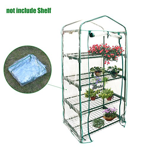 Chengstore giardino mini serra, portable garden green house per esterni e interni