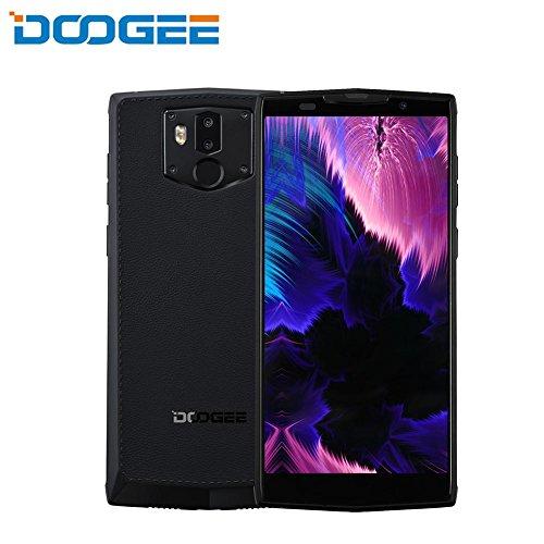 """Bulary Neues Smartphone DOOGEE BL9000 6GB 64GB Helio P23 Octa Kern 5V5A Aufladungsblitz 9000mAh Wieder aufladbares drahtloses 5.99""""FHD + Android 8.1 Handy"""