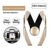 #10: Magneum Innovative AC Vent Car Mobile Holder - Gold