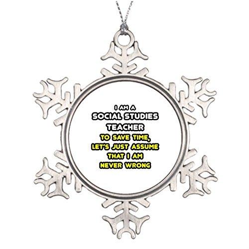 C-US-lmf379581 Schneeflocken-Ornamente Best Friend, Vintage-Schneeflocke, Ornamente, soziale Studien, Lehrer und Geschenke