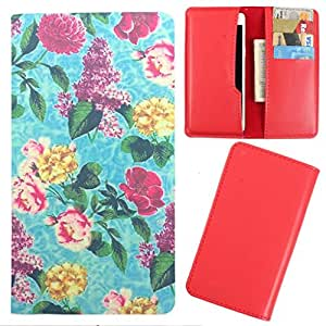 DooDa - For Videocon A55Q HD PU Leather Designer Fashionable Fancy Case Cover Pouch With Card & Cash Slots & Smooth Inner Velvet