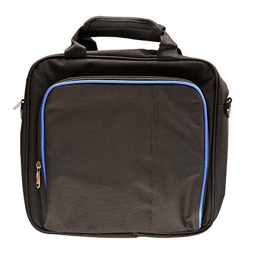 iprotect Tasche für PlayStation 4 PS4 Konsole, Controller und Zubehör Schutztasche und Aufbewahrung in schwarz