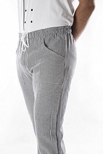 Pantalone Coulisse con Tasche Pied DU Poule tg 3XL XS