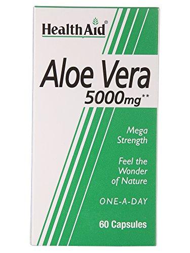 Milch Aloe (Aloe Vera 5000mg 60 Kapseln HA)