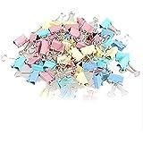 SODIAL(R)60 Pcs Metal Color Clasificado Archivo Papel Carpeta Clips