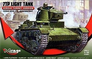 Mirage Hobby 355001-Maqueta de Tanque 7TP Light Versión Single Turret