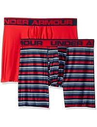 Under Armour Men's Original 6-inch Novlty Boxer Jock (Pack of 2),