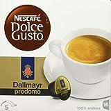 Nescafé Dolce Gusto Dallmayr Prodomo Kaffeekapseln (Edle Spitzenmischung für einen vollaromatischen Geschmack, 100% Arabica Hochlandbohnen, aus nachhaltigem Anbau) 3er Pack (3 x 16 Kapseln)