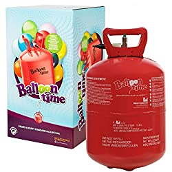 for Birthday Party Events Disposable Helium Gas Canister Fills 30 Balloons