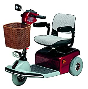 Roma Medical (Shoprider) Sovereign 3 Class 2 Mobility Scooter - Metallic Red