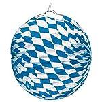 amscan 10118269 1004 Deko-Set Bayern, blau