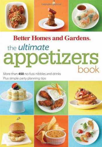 The Ultimate Appetizers Book: Mo...