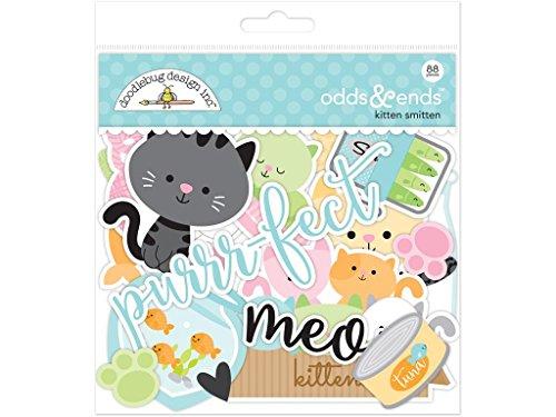 """Doodlebug Papierschablonen """"Kitten Smitten Odds & Ends"""", mit Kätzchen"""