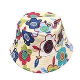 DaoRier Cappello da Pescatore Cappello da Pescatore Cappello da Caccia Tappi Visiera Traspiranti Anti UV UPF 50 Protezione Solare Esterno 17976 Estate Bambino 54cm