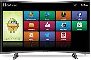 """Mitashi 97.79 cm (38.5"""") MiCE039v30 HS HD Ready CURVED Smart LED TV With 3 Years Warranty"""