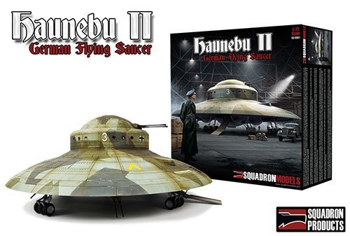 haunebu II WWII German Flying saucer 1/72 UFO model kit