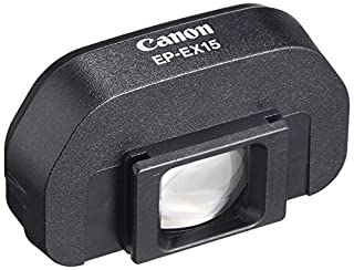 Canon EP-EX15 - Extensor de Visor para Canon EOS, Negro (B0000C4G8C) | Amazon price tracker / tracking, Amazon price history charts, Amazon price watches, Amazon price drop alerts