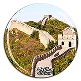 Chinesische Mauer Peking China Kühlschrankmagnet 3D Kristallglas Tourist City Travel Souvenir Collection Geschenk Starke Kühlschrank Aufkleber