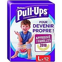 Huggies Pull Ups Töpfchen Training Large Hosen für Jungen, 12Hose