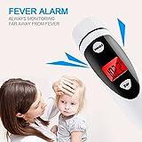 Baby Fieberthermometer im Test zeigt Fieber an