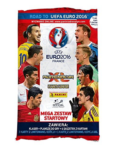 Panini Road to EURO 2016 Frankreich Adrenalyn XL Starter Pack (UK-Version)