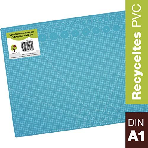 OfficeTree® Set Estera Corte - 90x60 cm A1 Azul -