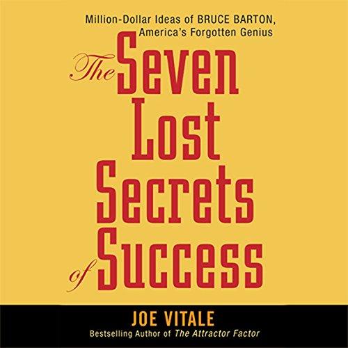The Seven Lost Secrets of Success  Audiolibri