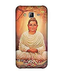 small candy 3D Printed Back Cover For Samsung Galaxy On5 -Multicolor buddha