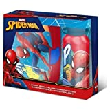 Marvel Spiderman Brotdose und Aluminium Trinkflasche Set