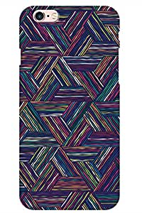 SRS Colour Lines 3D Back Cover for Apple iPhone 6s
