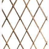Traliccio Estensibile In Legno Bamboo Dimensioni 180x240 Cm.