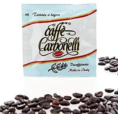 150 Ese Coffee pods - Caffè Carbonelli Decaffeinated - Real Neapolitan Espresso