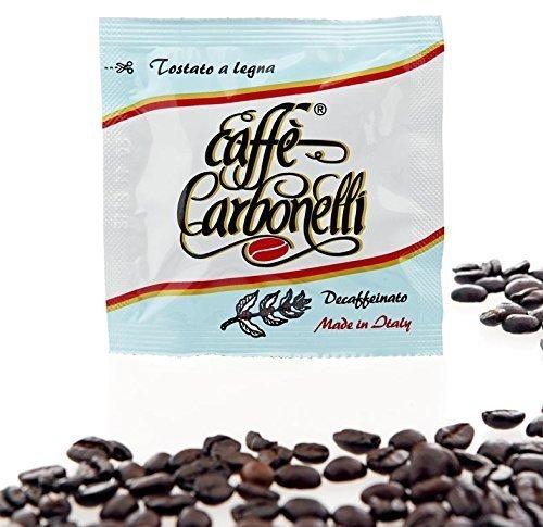 600Kaffeepads ESE Caffè Carbonelli Entkoffeiniert - Neapolitanischer Espressokaffee