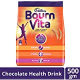 Cadbury Bournvita Chocolate Health Drink, 500 gm Pouch
