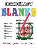 Beadcraft Blanks: Make your own pegboard-ready patterns for Perler beads, pixel art, Qixels, Hama, Artkal, Simbrix, Fuse, Melty, Nabbi, Pyslla, cross-stitch and more!