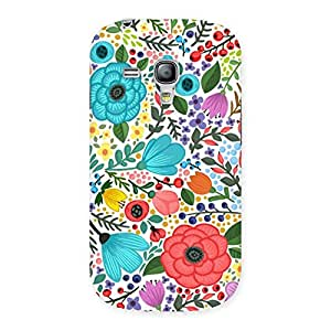 Neo World Floural Pattern Back Case Cover for Galaxy S3 Mini