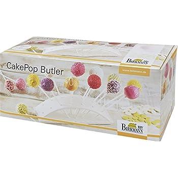 Servierst/änder Cakepop XXL Popcakest/änder hellblau oder rosa Halter f/ür 28 Pop Cakes wei/ß WELLGRO/® Popcake Halter Porzellan Farbe:Hellblau Pop Cake