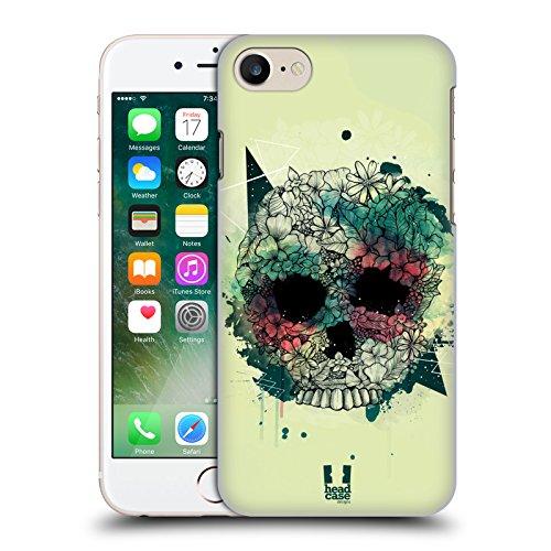 Head Case Designs Daisy Fiori Romantici Cover Morbida In Gel Per Apple iPhone 7 Plus / 8 Plus Menta